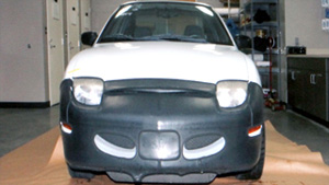 Photos of Casey Anthony's white Pontiac Sunbird were entered into evidence during her trial.