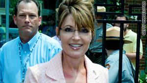 Two Pennsylvania men are accused of making threats to former Alaska Gov. Sarah Palin and her family.