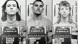 Damien Echols, Jessie Misskelley Jr. and Jason Baldwin served 18 years in prison.