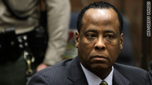 Dr. Conrad Murray's lawyers won't be able to delve into material from Michael Jackson's molestation trial.