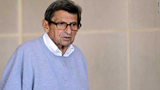 Joe Paterno was head football coach at Penn State for 46 seasons, winning a record 409 games.