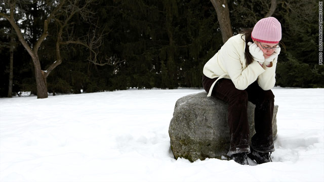 Seasonal affective disorder tends to strike mainly women in their 20s, 30s, and 40s.