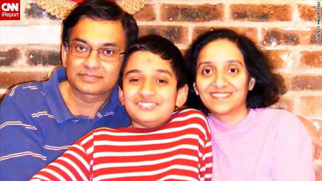 Mike Potnis and his wife, Rupal, struggled with whether to vaccinate their son Aditya.