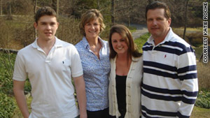 Katie's family, brother Michael, mom Kathleen, and her father, Mike, feared that Katie would die at the hospital.