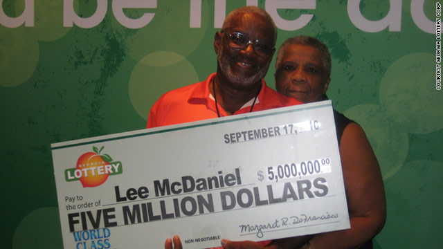 Lee McDaniel, 67, won $5 million in the Georgia Lottery last year. He says he has seen no downsides at all in winning.