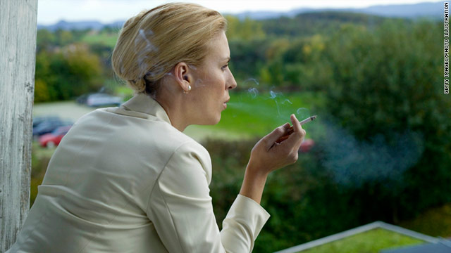 Women who smoke have an increased risk of developing breast cancer, a new study suggests.