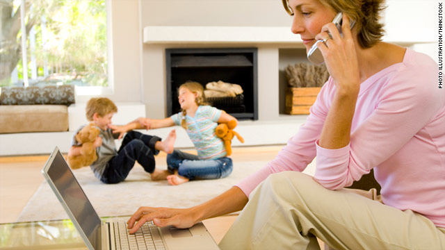 Long work hours for mom could mean higher body weight for children, a study suggests.