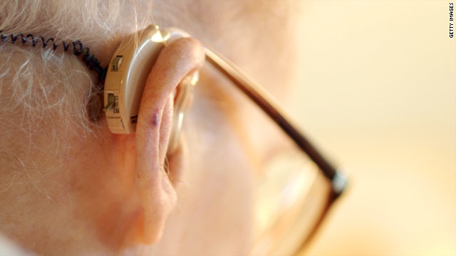 Gradual hearing loss is a common symptom of aging, but in some people it may also be an early sign of Alzheimer's disease.