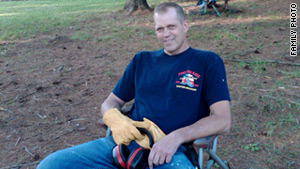 "New York firefighter Randy Wiebicke lived ""in a way that inspired everyone around him,"" his wife says."