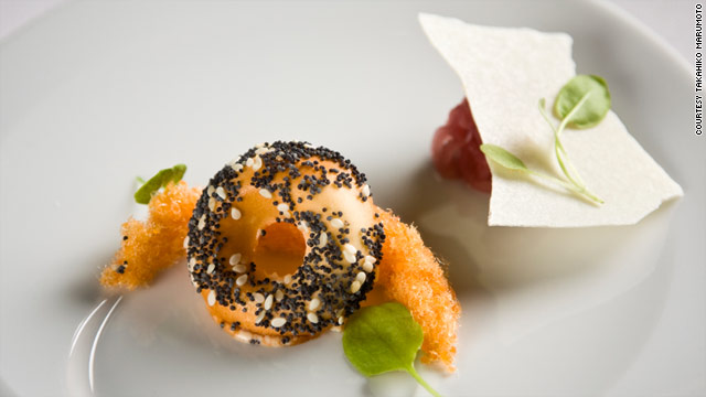 "The ""everything bagel"" at wd~50 in New York plays with your mind and taste buds."