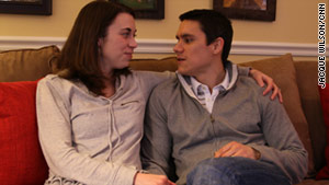 Alison and Tim Delgado started dating after their first year in medical school.