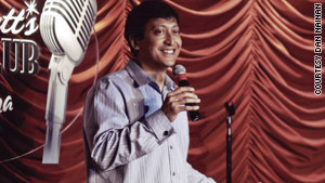Dan Nainan says his sleep schedule changed after becoming a comedian.