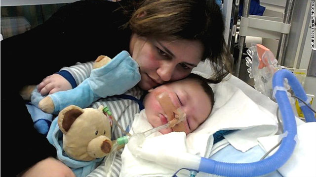 Baby Joseph Maraachli, a Canadian citizen, has been admitted to a hospital in St. Louis. His parents have been fighting to have their son admitted to a U.S. hospital.