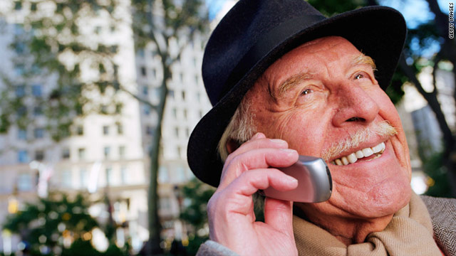 Chatting on a cell phone while attempting to cross the street may be hazardous for older adults, a new study suggests.