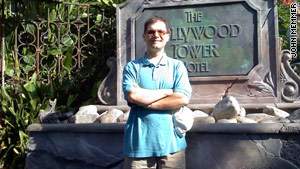 One of Memmer's favorite rides at Disney's Hollywood Studios is Tower of Terror.