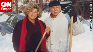 Before the Alzheimer's disease, Sam Cohen had never struck or hurt his family and his wife, Haya.
