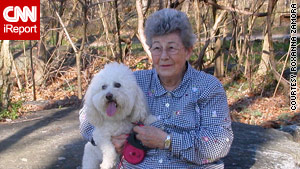 Although Peggy Zamora was fiercely protective of her bichon frise, Angel, she became violent because of Alzheimer's.