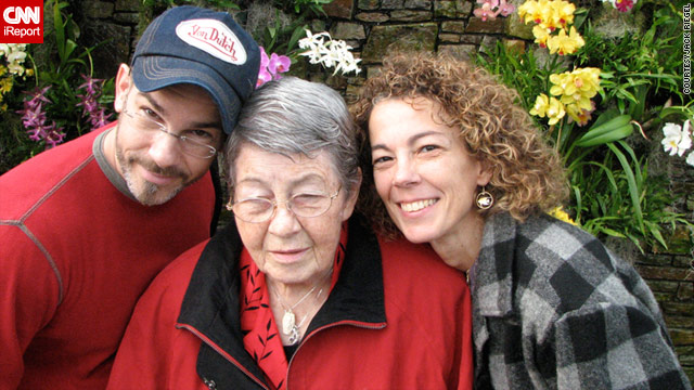 Roxanna Zamora, seen here with her brother Brian Zamora, take care of their 81-year-old mother Peggy Zamora at home.