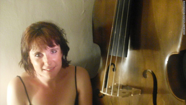 Gemma Boyd, 35, plays the double bass. She suffers from obsessive compulsive disorder.