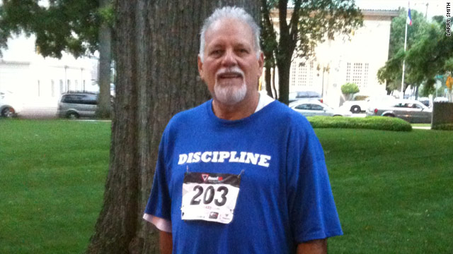 Larry Smith lost 58 pounds during a 12-week fitness challenge in Mississippi.
