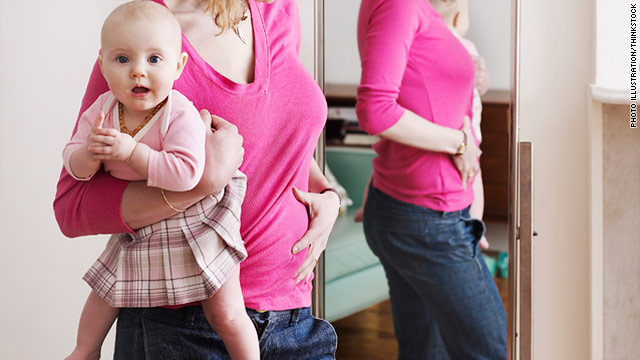 Less than 10% of the women in the study lost weight between pregnancies.
