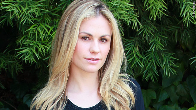"Anna Paquin likes her workouts hard, her coffee ""giant,"" and admits that she doesn't sit still much."