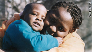 Linda Scruggs had feared her son Isaiah, seen here in 1993, would also have HIV; he is negative.