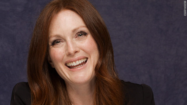 """I think if I have any strength, it's the ability to read scripts well,"" Julianne Moore says."