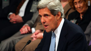 Kerry also introduced the Endocrine Disruption Prevention Act of 2009 into the Senate.