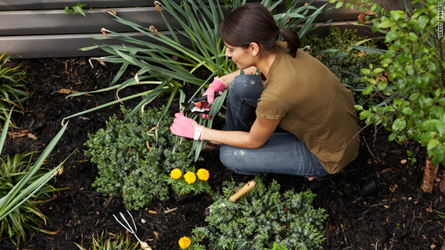 Gardening can ease stress, keep you limber, and even improve your mood.