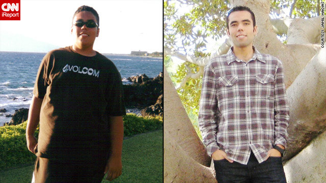 Jamil Macias lost nearly 130 pounds, thanks to exercise and changing what he ate.