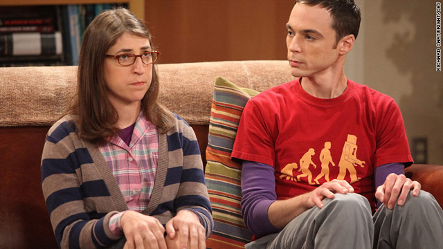 Mayim Bialik plays Amy Farrah Fowler on the CBS hit comedy &quot;The Big Bang Theory.&quot;