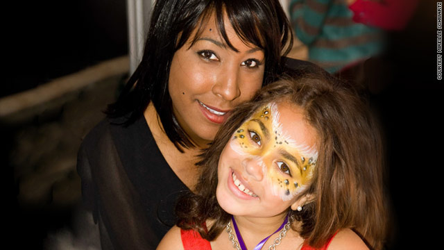 Mireille Schwartz started a food allergy resource group after throwing a Halloween party for her food-allergic daughter Charlotte.