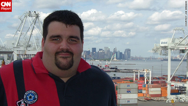 Joe Dragon lost 130 pounds.  Scroll down to see what he looks like after his weight loss.