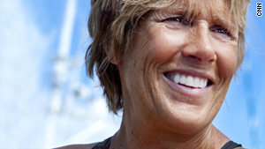 """I am not sad. It was absolutely the right call,"" said swimmer Diana Nyad, after ending the 103-mile swim to Florida."