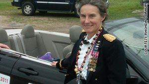 Brig. Gen. Rhonda Cornum, an M.D. and Ph.D., directs the Comprehensive Soldier Fitness initiative.