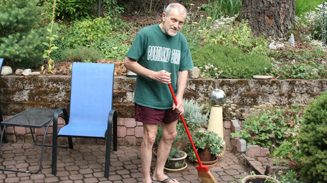 Phil Kreitner, 71, lives in Portland, Oregon, and is experiencing lapses in memory.