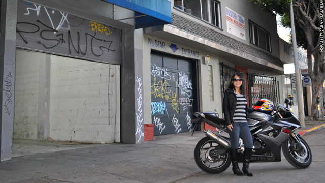 Nansee Kim-Parker started her own motorcycle shop after borrowing money from family and friends.