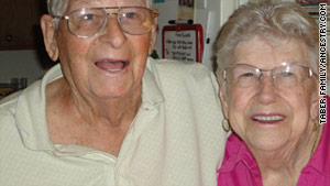 Siblings Albert Taber and Florence Hand reunited in 2010 after being lost to each other for 85 years.