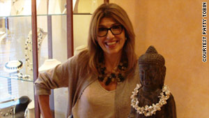 Patty Tobin, 57, discovered her jewelry-making talent five years ago. She left consulting to work in fashion full time.