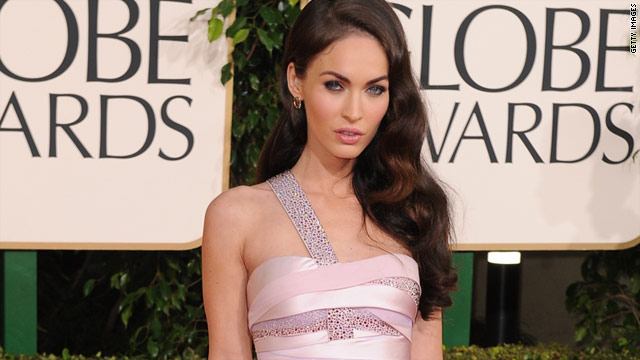 Megan Fox was forced to wear a banana costume at her first job working at a smoothie shop.