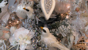 Regency International shows off icy ornaments.