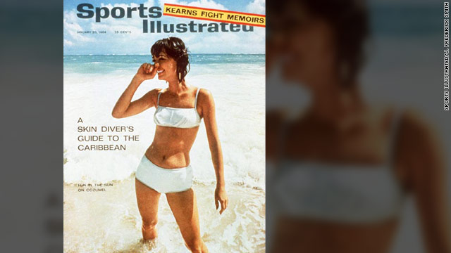 Babette Beatty (then Babette March) had already been on the cover of Elle before launching the Sports Illustrated swimsuit issue.