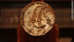 The Harold and Dorothy Seymour medal honors the author of the year's best baseball history book.