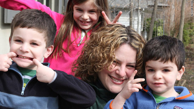 Blogger Jill Smokler loves her kids but admits there are days when they drive her crazy.