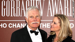 Ted Turner and the two other winners were personally selected by Mikhail Gorbachev.