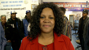 Diane Latiker, 54, has become a mentor for local youth in her Chicago neighborhood.