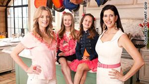 Shanna Swanson (left), and Liane Weintraub derive inspiration from their kids to make healthy snacks.