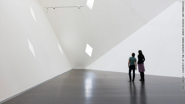When visitors first enter the Yud Gallery in the Contempory Jewish Museum, they hear a first voice asking, &quot;Can we talk?&quot;