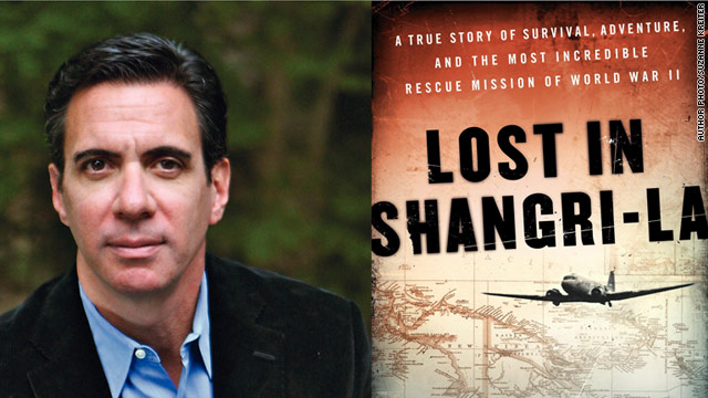 "Mitchell Zuckoff talks about his new historical novel, a true story from World War II called ""Lost in Shangri-La."""